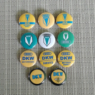11 Stück Dkw / Auto Union / Hummel / Button / Pins / Badge / 1 Inch / 25 Mm Online Shop