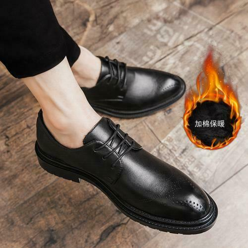 Details about  /Mens Dress Formal Business Leisure Shoes Pointy Toe Work Office Oxfords Casual L