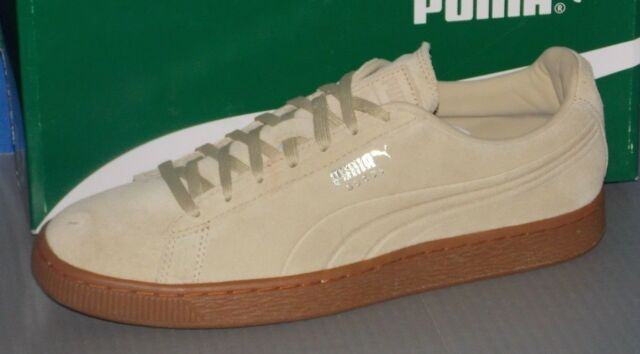 Details about Puma Suede Emboss #36074701 Pale Khaki Gum 9 12 FREE SHIPPING Backroom