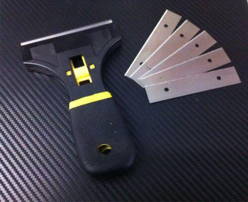 Schaber Glasschaber Fensterschaber Zeranfeldschaber Folie entfernen Entferner