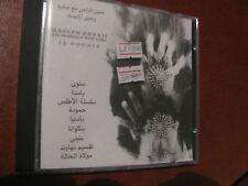 "HASSAN ERRAJI ""la dounia""-CD-afro jazz oud/fretless/al ghita/violin/voice/drums"