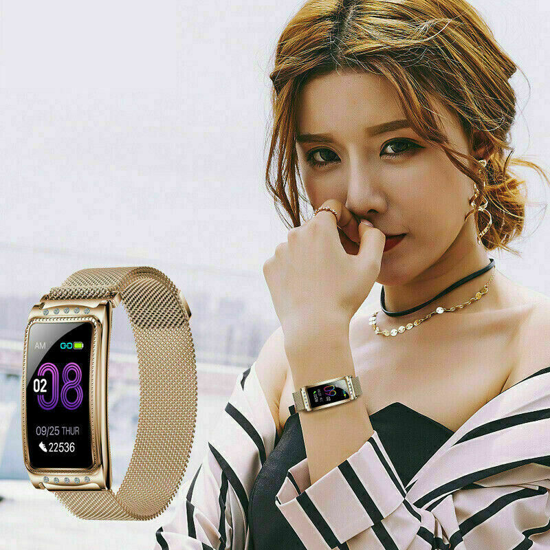 Fitness Activity Tracker Fit Bit Android Ios Heart Rate Women Gift Smart Watches