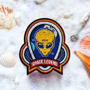 23f5045f312 Alien Space Legend Embroidered Sew On Iron On Patch Badge Fabric ...
