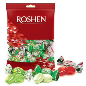 Ukrainian-Sweets-ROSHEN-Candies-Mix-Caramel-Barberry-Duchess-Mint-200g-7-oz