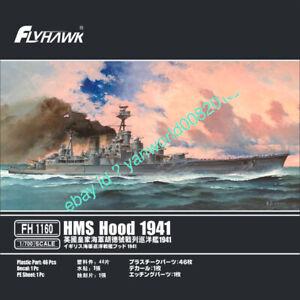 Flyhawk FH1160 1/700 HMS HOOD 1941 Model Kit