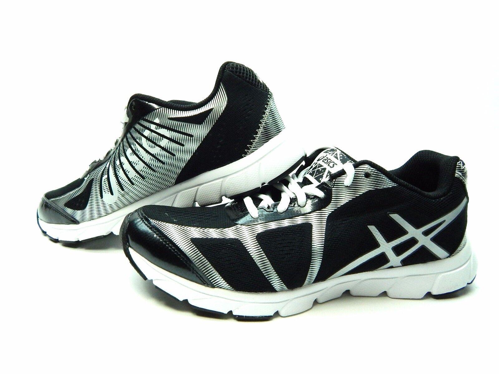 ASICS GEL HAVOC 2 Noir LIGHTNING Blanc ATHLETIC Homme Chaussures Taille 7 & 8.5