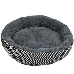Cushion-warm-couch-bed-for-pet-puppy-dog-cat-in-winter-Grey-M-I3K2