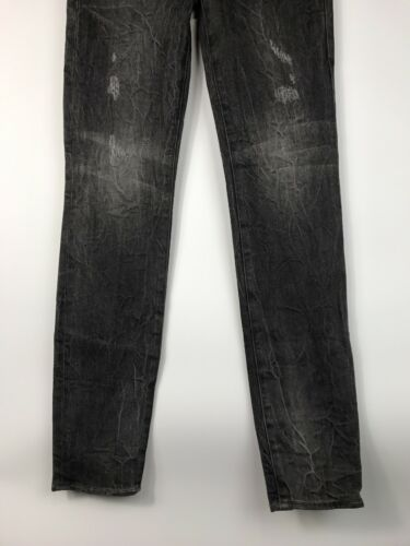 Upstage Republic Nwt Low 26 Rise 29 Distressed Skinney Grigio Rock X Jeans Posey 07pcw5qc