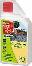 """Bayer """"Dimanin Grünbelag Entferner"""" 1,0 L Flasche mit Konzentrat"""