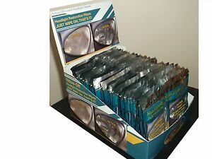 25-SETS-OF-YELLOW-OFF-HEADLIGHT-CLEANER-RESTORATION-WIPES-IN-DISPLAY-BOX-1-80-EA