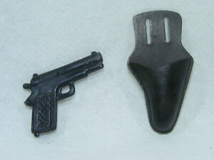 Pistolet-amp-Holster-accessoire-BIG-JIM-ACTION-JOE-ACTION-MAN-80-039-s-vintage