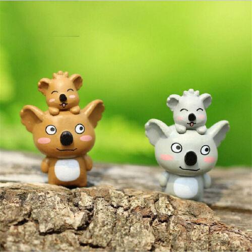 1pc Mini koala Fairy Garden Miniatures Micro Landscape Resin Crafts decor @#SP
