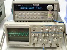 Kenwood Cs 4125 Oscilloscope 20mhz Cs4125 2 Channel Autofocus 115 220v Tested