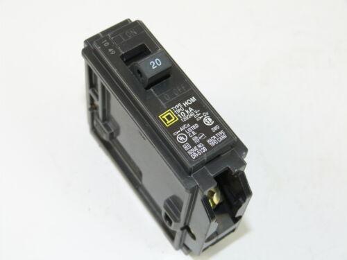 Square D Homeline HOM120 1p 20a 120v Circuit Breaker NEW 1-yr Warranty