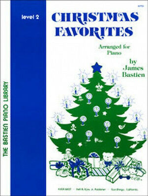 CHRISTMAS FAVORITES LEVEL 2 (BASTIEN SUPPLEMENTARY BOOKS) - SOLO PIANO BOOK