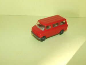 BEDFORD Bus Rouge WIKING 1/87 ho