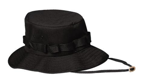 Black Rothco 5546 Jungle Hat