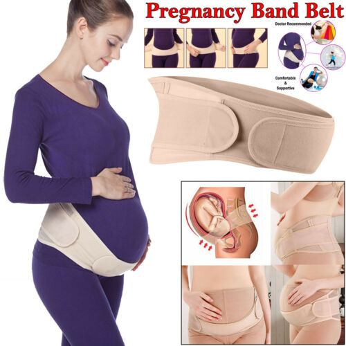 Special Maternity Pregnancy Support Baby Belt Strap Waist Band Bump Lumbar Back