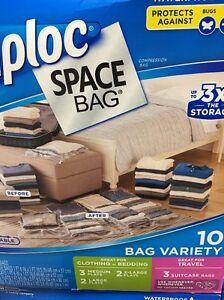 Image Is Loading New Ziploc E Bag Vacuum Seal Storage Bags