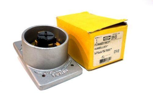 NEW HUBBELL 20418 FLANGED INLET HBL20418