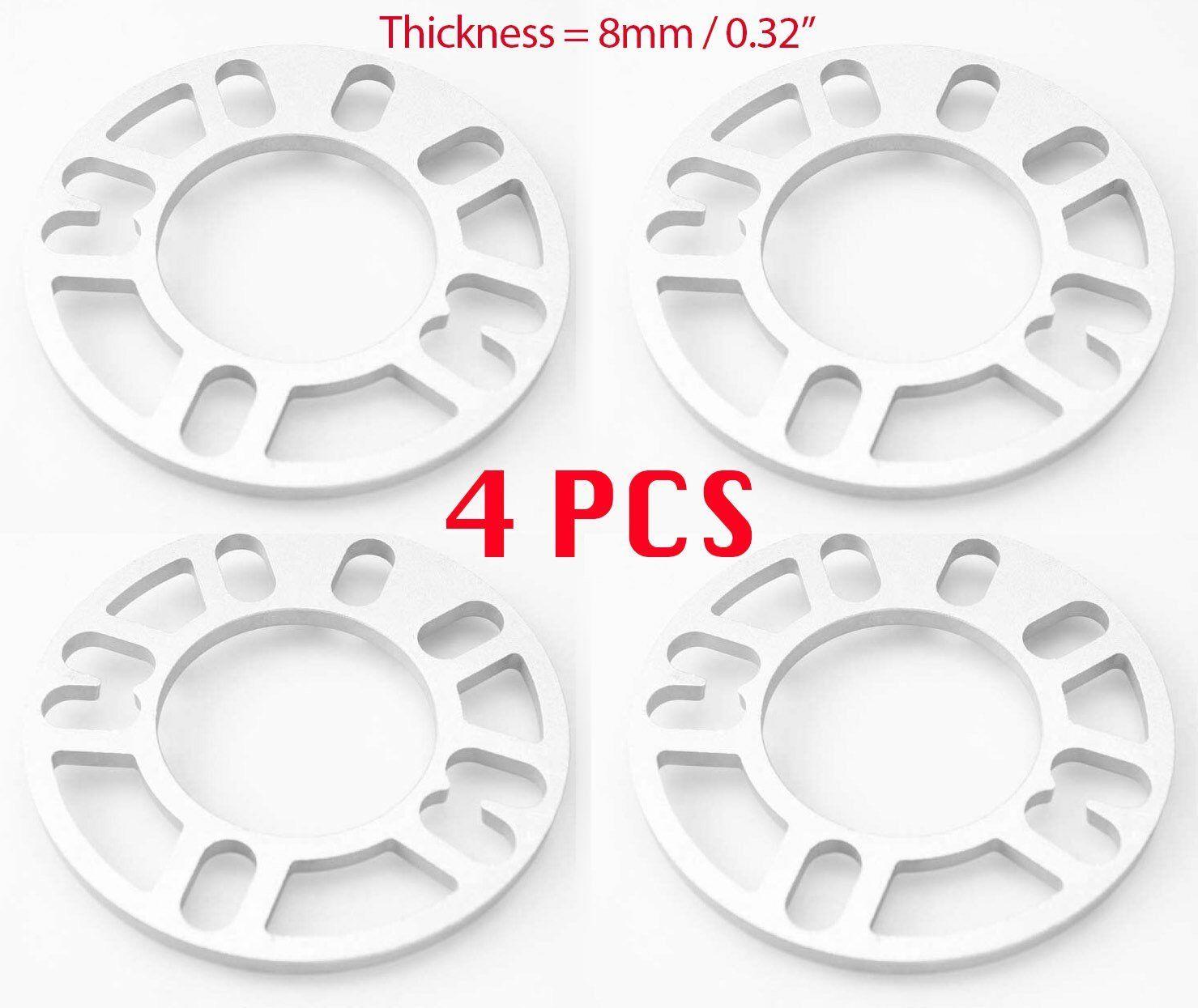 4Pcs 8mm Car Wheel Spacer Adaptor 5x100 5x114 11PCS Pry Tool Fit Chevrolet