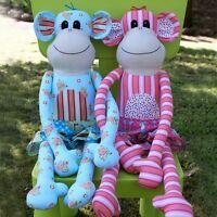 Magoo Monkey Softie Animal Toy Pattern Melly & Me Children Kids Australian