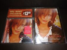 MARTINA McBRIDE THE MAKING OF TIMELESS DVD with TIMELESS CD--Walmart Exclusive