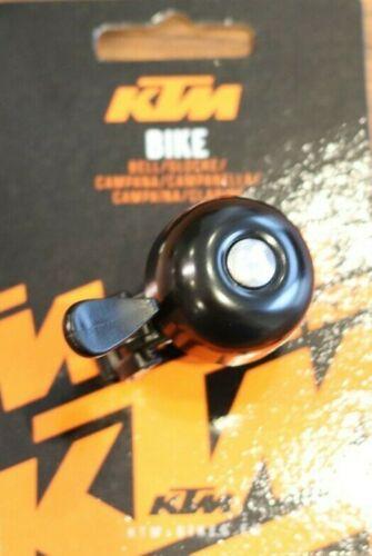 KTM Glocke Klingel Metall Schwarz Fahrrad Trekking City NEU