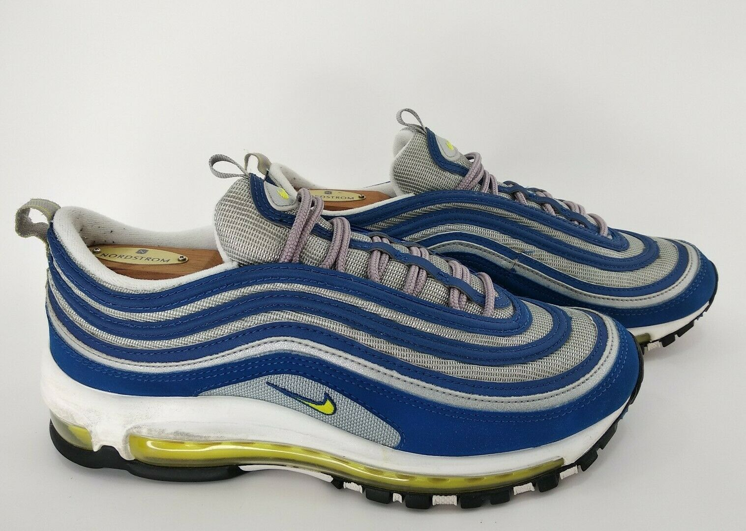 Details about VTG OG Nike Air Max '97 Atlantic Blue Voltage Yellow 1997 sz 8