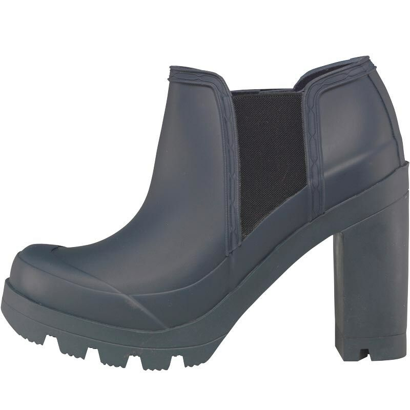 Hunter EU Damenschuhe Original High Heel Schuhes, Navy, UK 4 EU Hunter 37 US 6, BNIB 32a47d