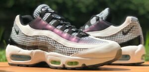 Details about NIKE AIR MAX 95 LV8 GRID WHITE BLACK BLUE GAZE RUNNING SHOES AO2450 100 NEW MENS