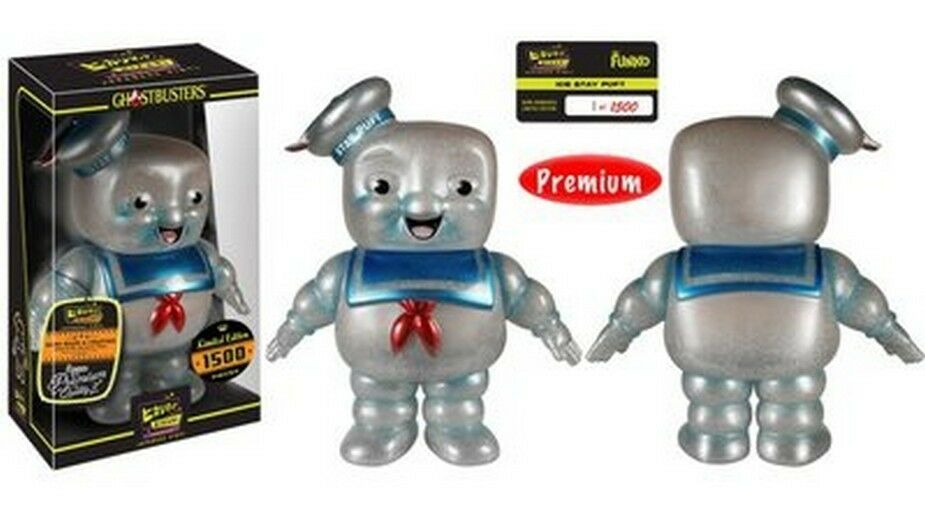 FUNKO HIKARI Ghostbusters - Stay Puft (Ice) - Marshmallow Man VINYL FIGURE