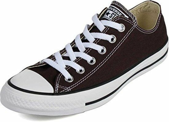 CONVERSE ALL STAR CHUCK TAYLOR LOW Homme Chaussures BURNT UMBER 149523F Taille 12 NEW
