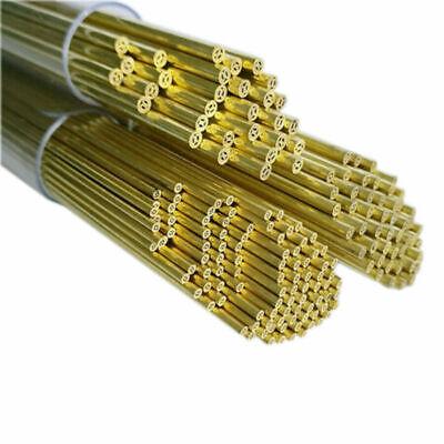 40 Pcs Ø 1.40 mm x 400 mm  EDM Drilling Electrodes Single Channel Brass Tubes