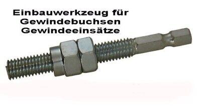 sainchargny.com Einbauwerkzeug Gewindeeinsatz Gewindebuchse M 6 ...