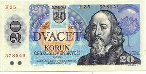 Slovacchia-20-corone-1988-FDS-UNC-pick-15-lotto-2821