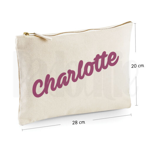 GIFT FOR NEW BABY #CHPIAV Personalised Baby Nappy Pouch// Mini Changing Bag