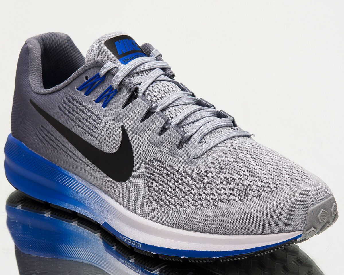 Nike Air Zoom Structure 21 MenS Running Shoes New Men Grey Sneakers 904695-003