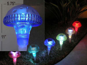 6x Garden Outdoor Decor Festival Party Colour Changing