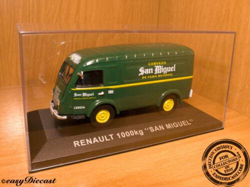 """RENAULT 1000kg 1000-KG 1:43 /""""SAN MIGUEL/"""" BEER MINT!!!"""