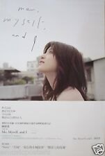 """MICHELLE CHEN """"ME, MYSELF & I"""" ASIAN PROMO POSTER - Madopop Singer & Actress"""