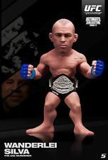 WANDERLEI SILVA ULTIMATE COLLECTORS SRS 12.5 LIMITED EDITION ROUND 5 UFC FIGURE