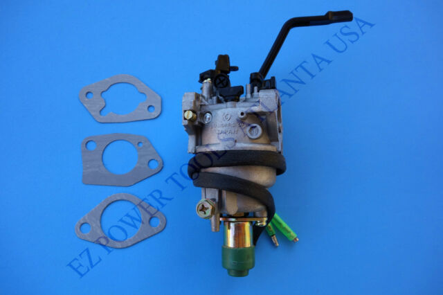 ruixing 100 rx100 carburetor assembly with solenoid manual choke rh ebay com Homelite Choke Lever And Choke Cable Lever