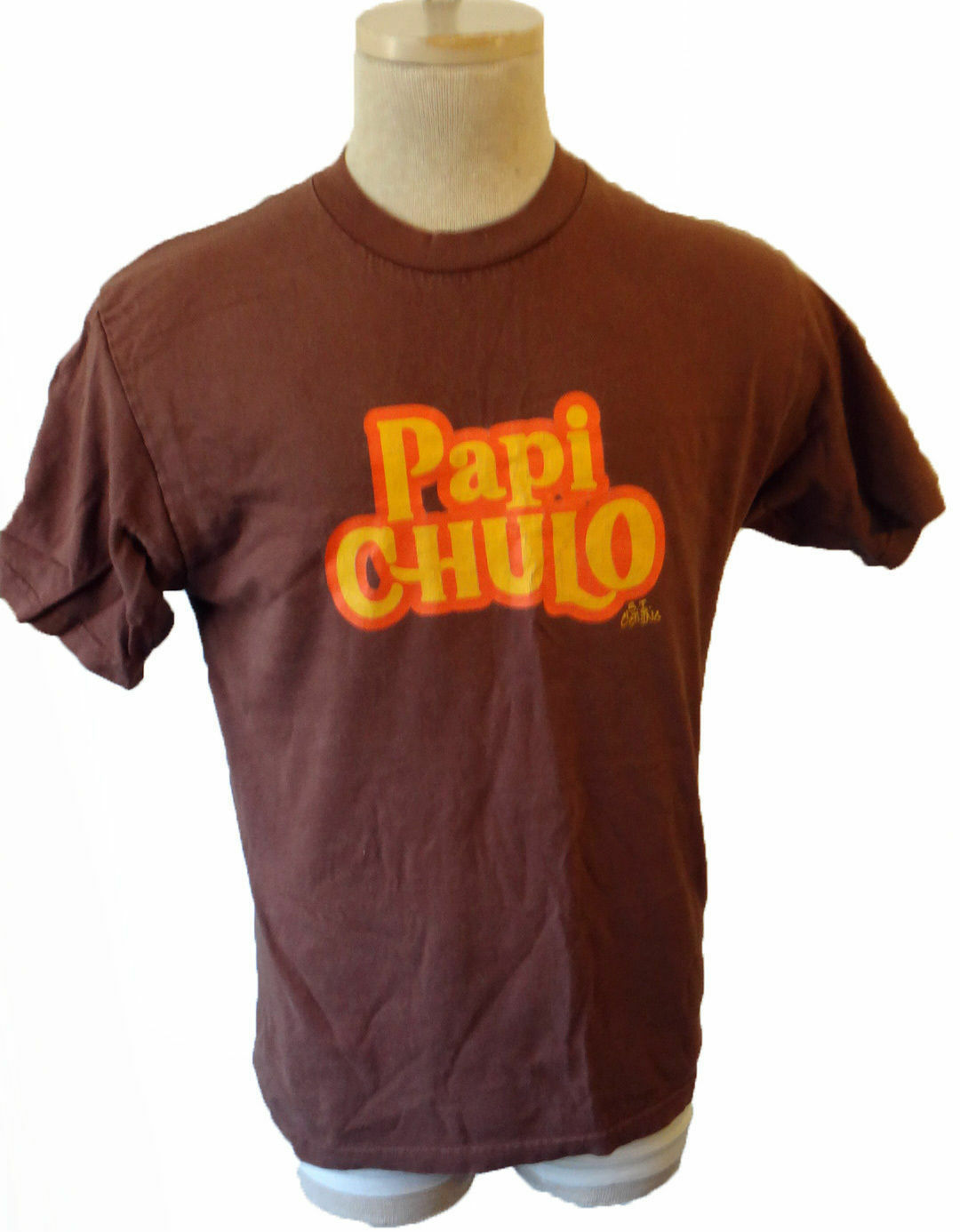 Spanish Papi Chulo Mac daddy translation big father medium vtg tee mexican med