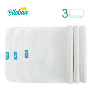 Infant-Soft-100-Cotton-Baby-Diaper-Changing-Pad-Cover-Liner-Waterproof-3-Pack