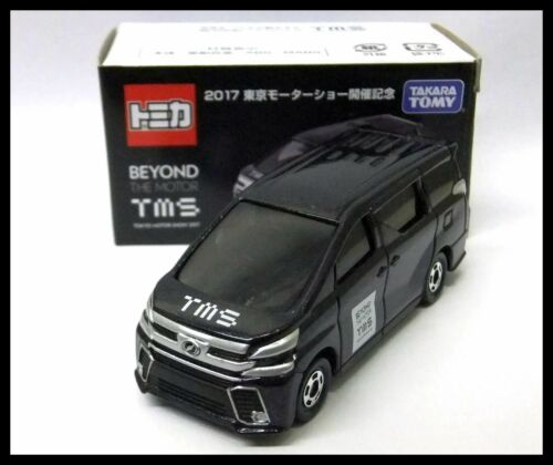 TOMICA Tokyo Motor Show 2017 TMS 12 TOYOTA VELLFIRE 1//65 TOMY BEYOND NEW 84