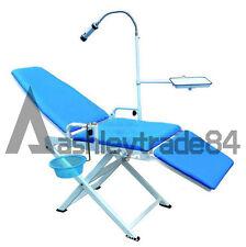Dental Unit Medical Portable Mobile Chair LED Cold Light Full Folding Chair CE