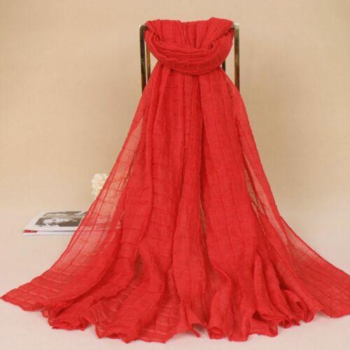 Chiffon Schal Stola 85x180cm Hijab Abendkleid Hochtzeit Halstuch Tesettür