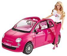 NEUWERTIG: Mattel Barbie Y6857 - Fiat, Auto inklusive Puppe