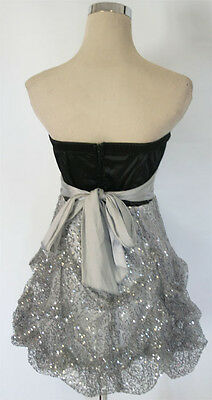 RUBY ROX Black Silver Homecoming Prom Party Dress 13